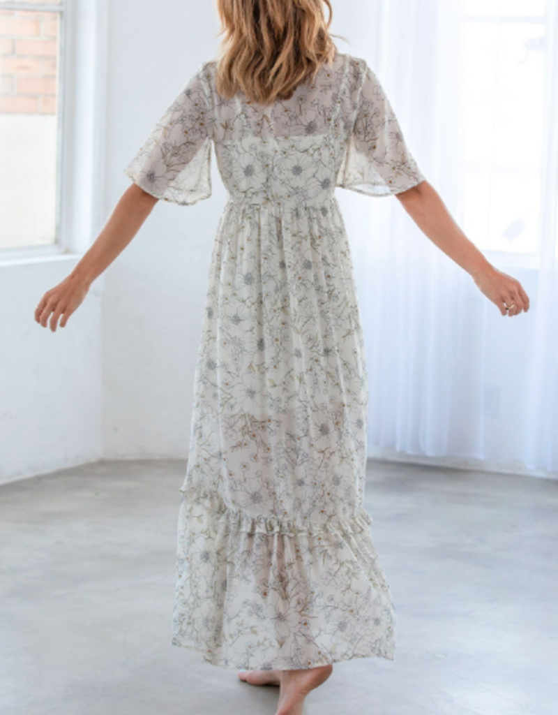 Lovestitch Lovestitch Prairie Love Maxi dress