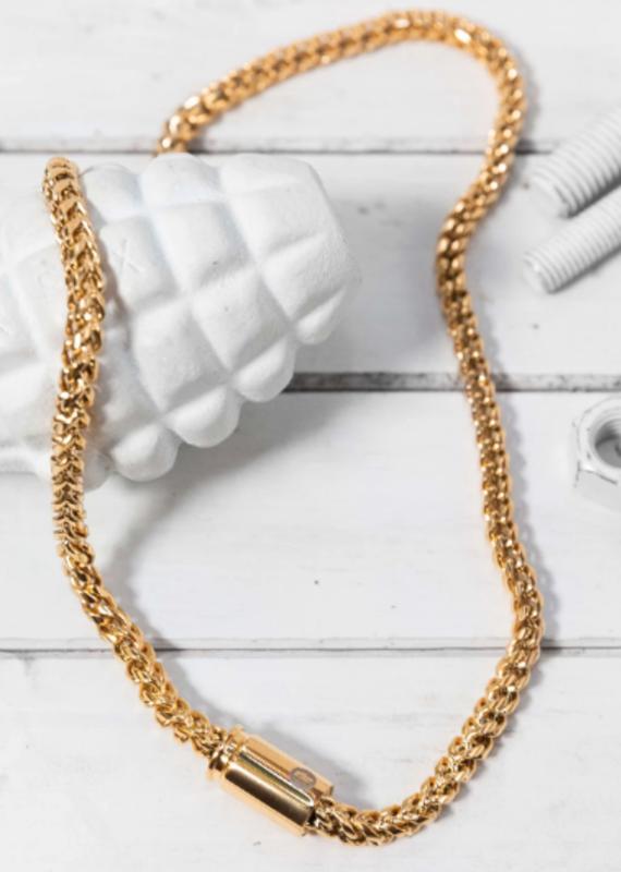 Brass & Unity Quattro Necklace