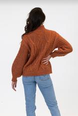 Lyla & Luxe Lyla Arthur cable sweater