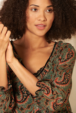 Nile Nile Chiffon print blouse