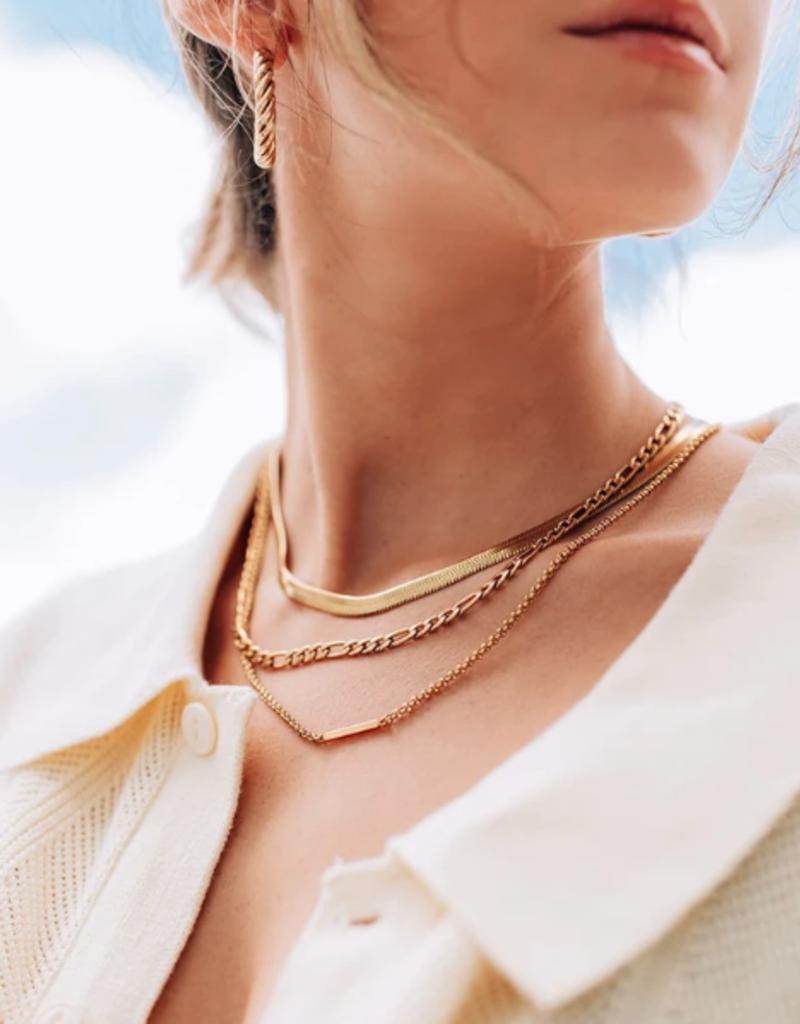WellDunn WellDunn Figaro necklace