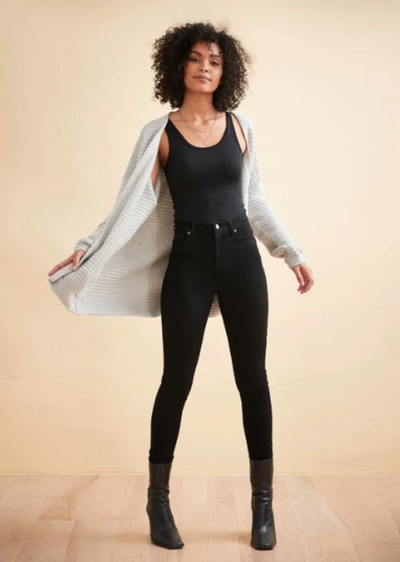 Yoga Jeans Rachel skinny HR black