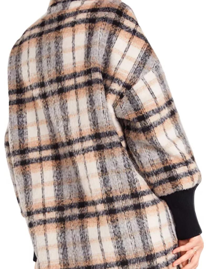 BB Dakota BB Dakota Plaid Times Coat