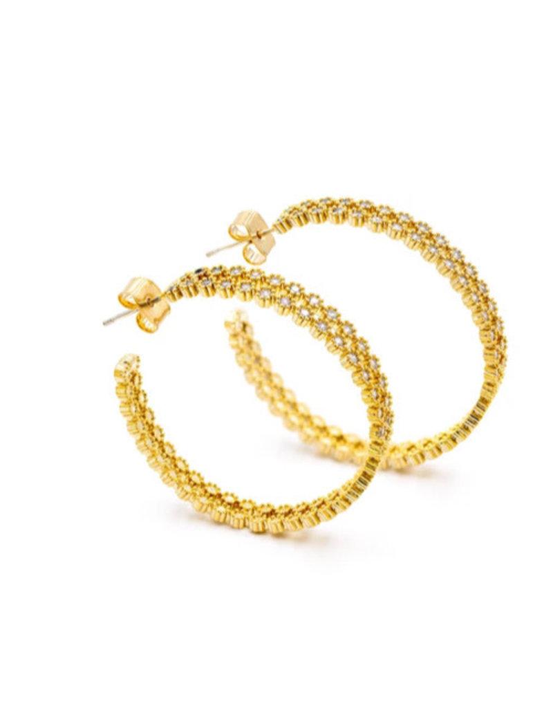 Luv & Bart Luv & Bart Faith earrings
