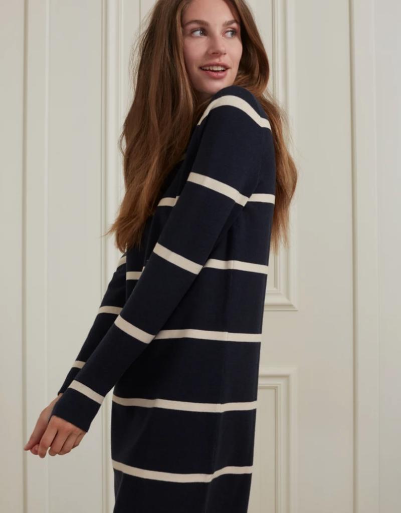 YaYa Yaya stripe knit dress