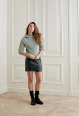 YaYa Yaya faux leather skirt