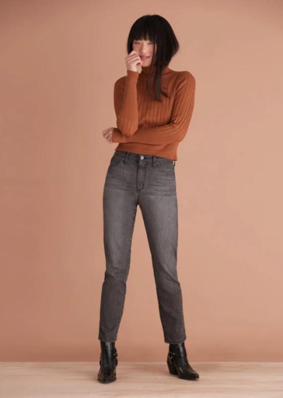 Yoga Jeans Emily Slim Thunder