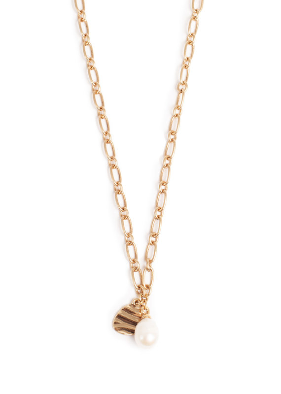 Merx A&C Waves & Pearls Necklace