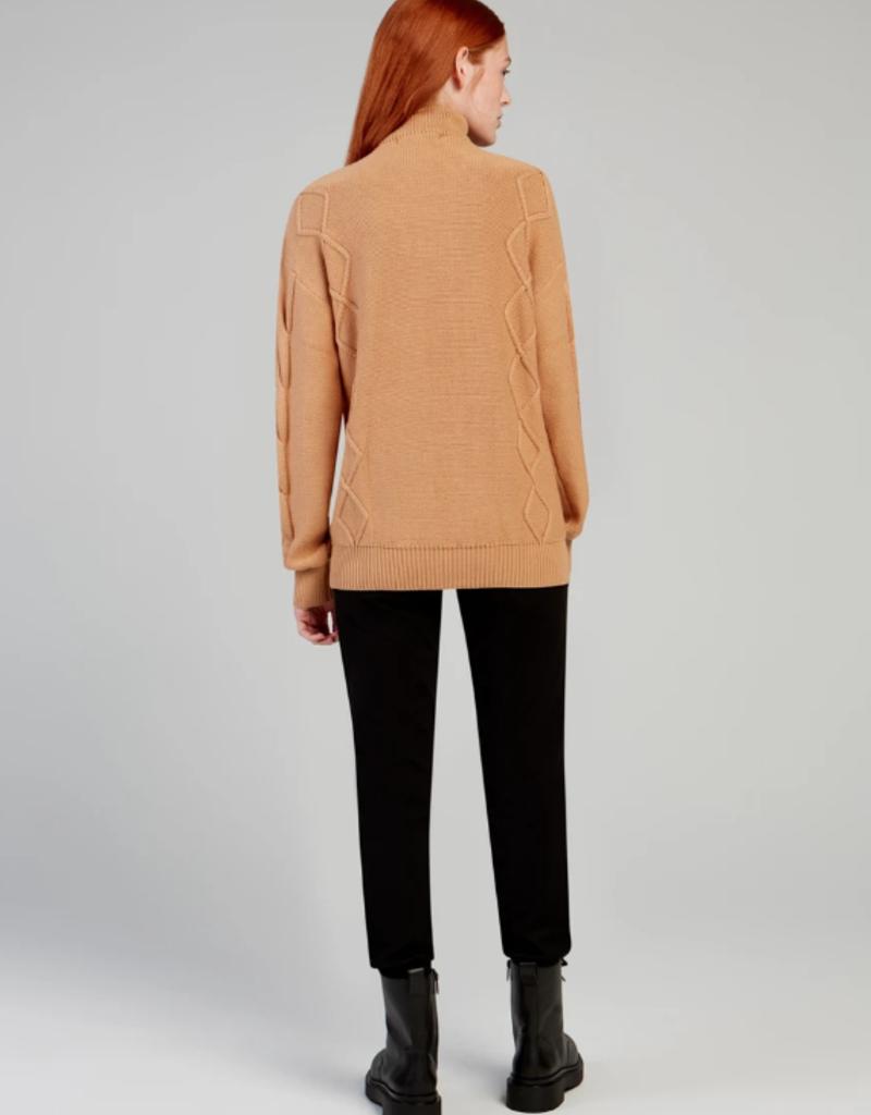 Fig Fig Ukk Zip Sweater