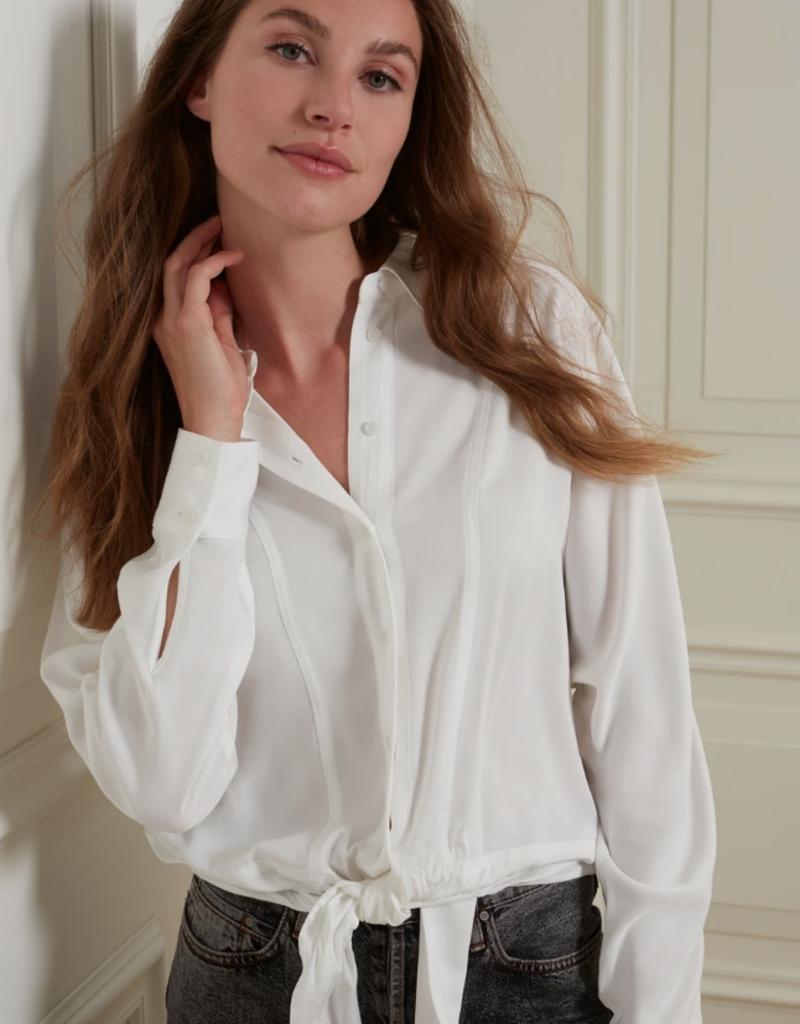 YaYa Yaya Tie blouse