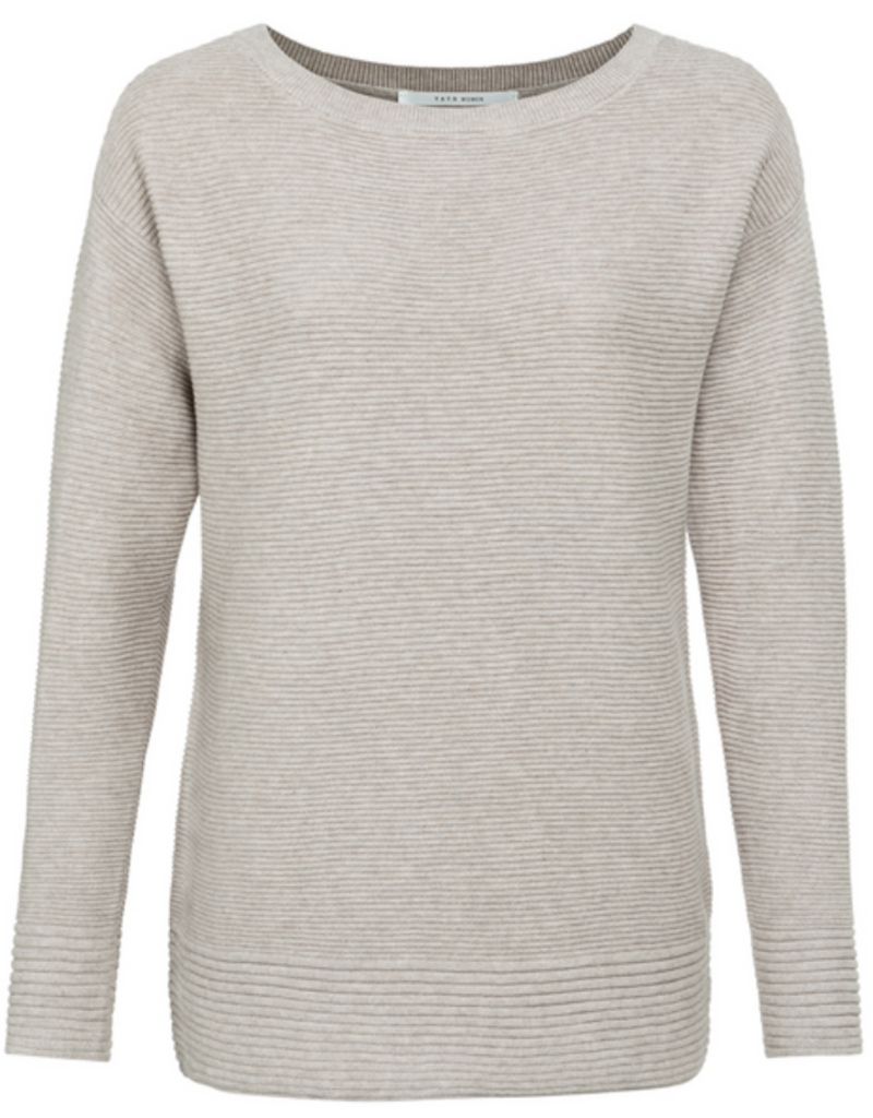 YaYa Yaya boatneck sweater