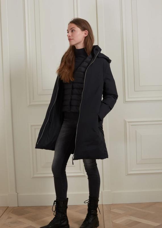 YaYa Long puffer coat