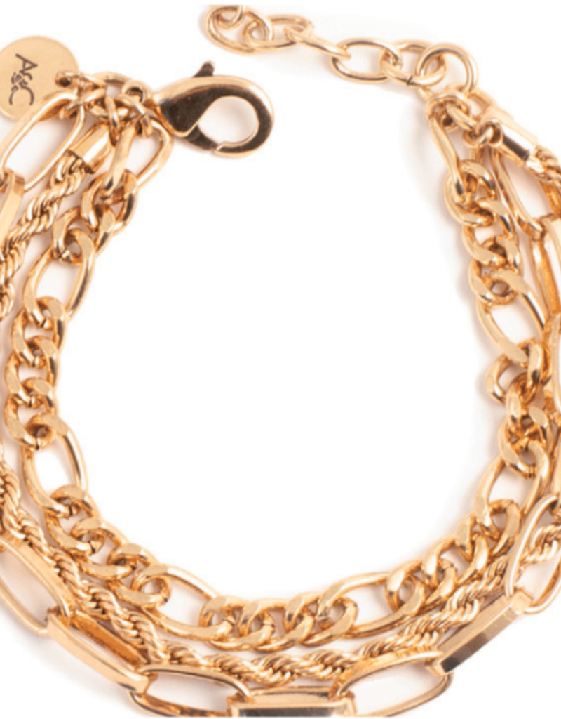 Merx A&C Chain Reaction Bracelet