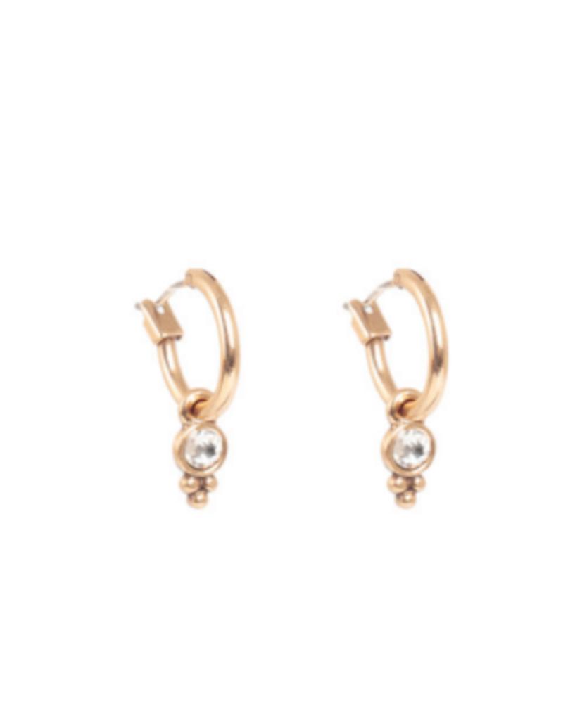 Merx A&C Charming Coin Gold Earring
