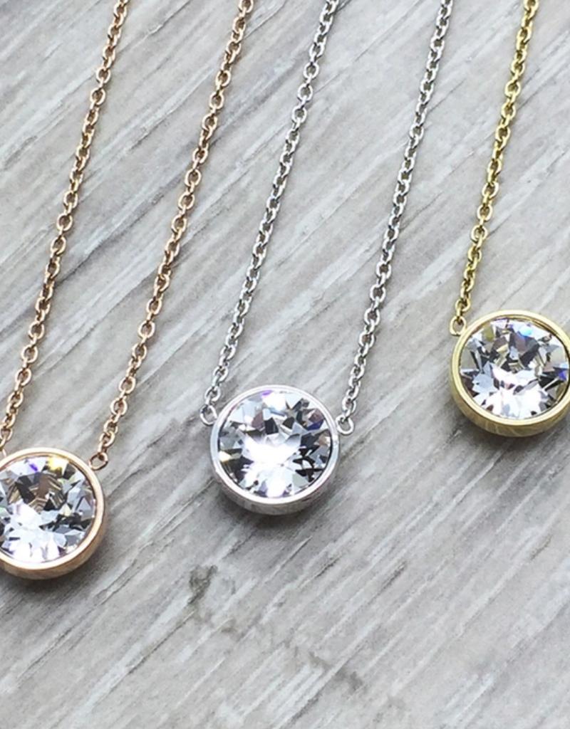JJ+RR JJ+RR Swarovski Necklace Crystal