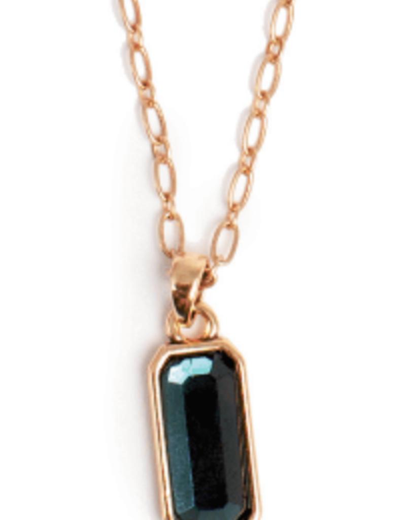 Merx A&C Elegant Jewels Teal Necklace
