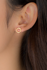 JJ+RR JJ+RR Open circle earring