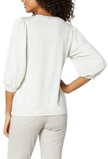 Liverpool LM8388KN5 Puffed Sleeve Knit Top