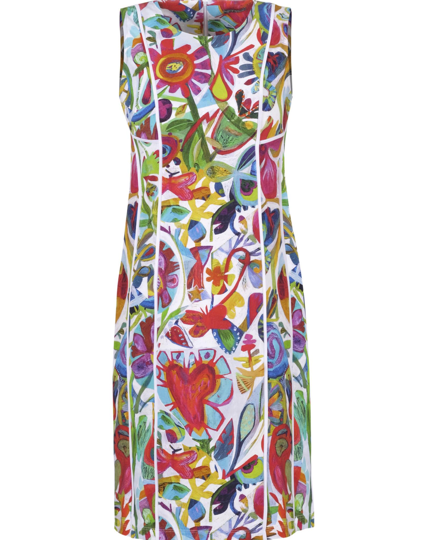 Dolcezza 21624 Print Art Dress