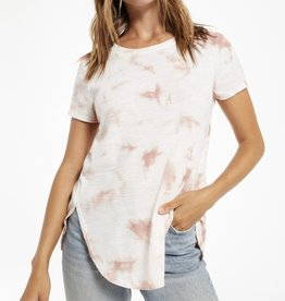 Z Supply Cloud Tie Dye Swing Tee