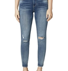 Liverpool Abby Mid-Rise Distressed Skinny Jeans
