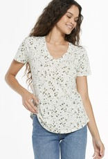 Z Supply ZT211653 Leopard  V-neck Tee