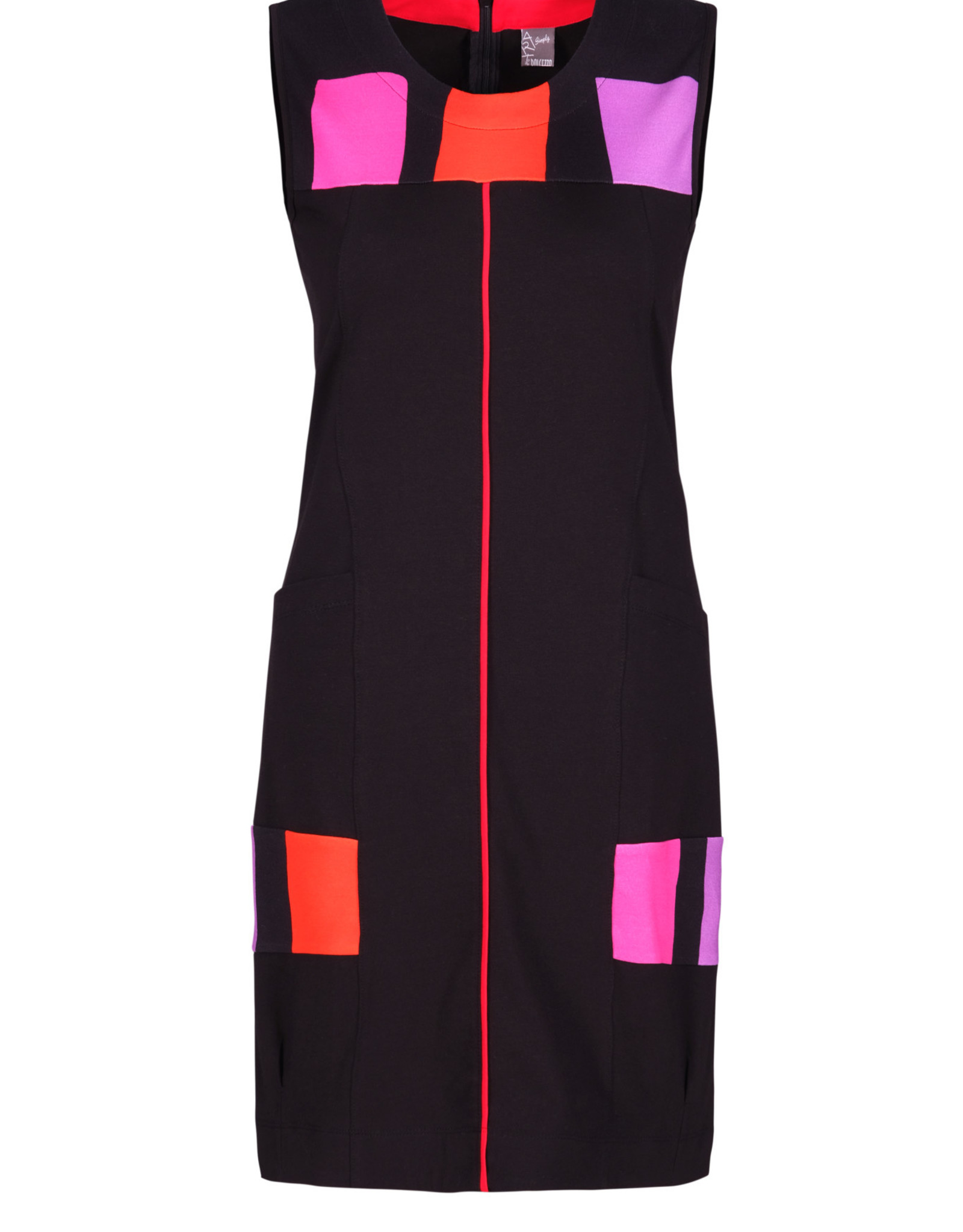 Dolcezza 21612 Colour Blocking Dress