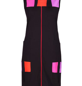 Dolcezza Colour Blocking Dress