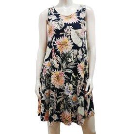 Gilmour Rayon Pocket Swing Dress