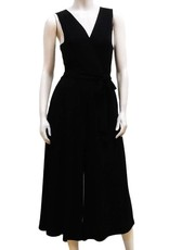 Gilmour BD-3022 Bamboo Crop Cross Over Jumpsuit