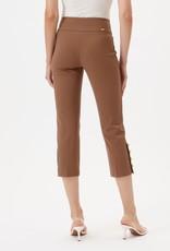 """Up Pants 67250 Button Crop Capri 25"""""""