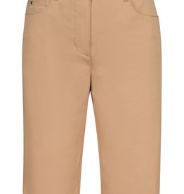 Tribal Stretch Twill Fly Front Bermuda
