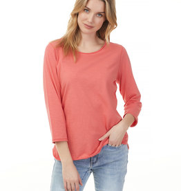 Charlie B Cotton 3/4 Sleeve Top