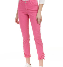 Charlie B Ripped Hem 5-Pocket Jeans