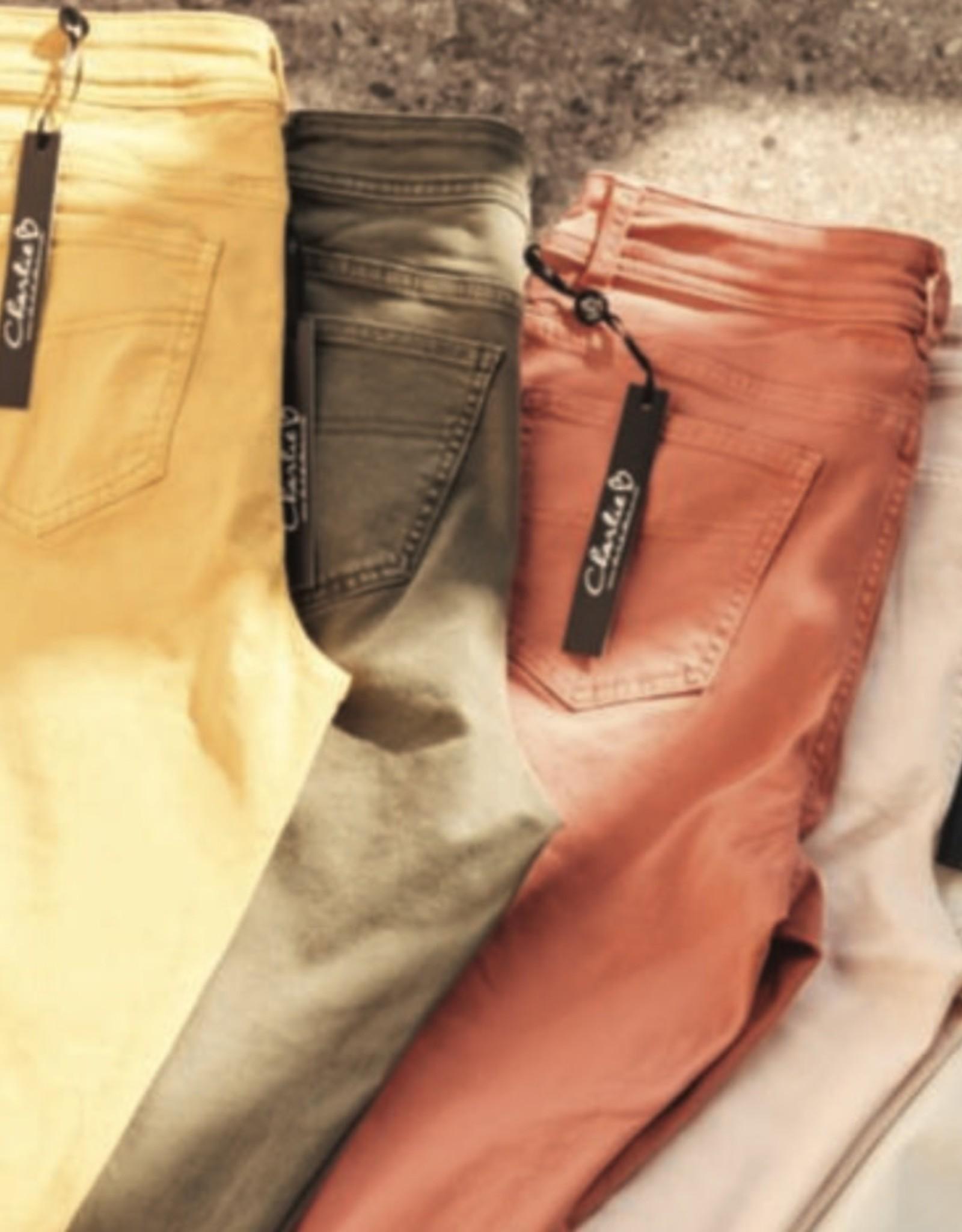 Charlie B C5147 Coloured Twill Pants