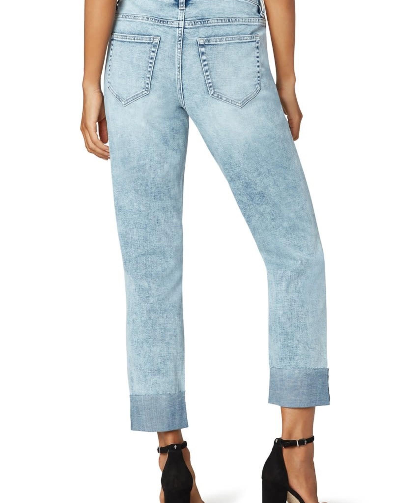 Liverpool LM5602SS8  Marley Girlfriend Raw Cuff Jeans