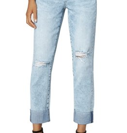 Liverpool Marley Girlfriend Raw Cuff Jeans