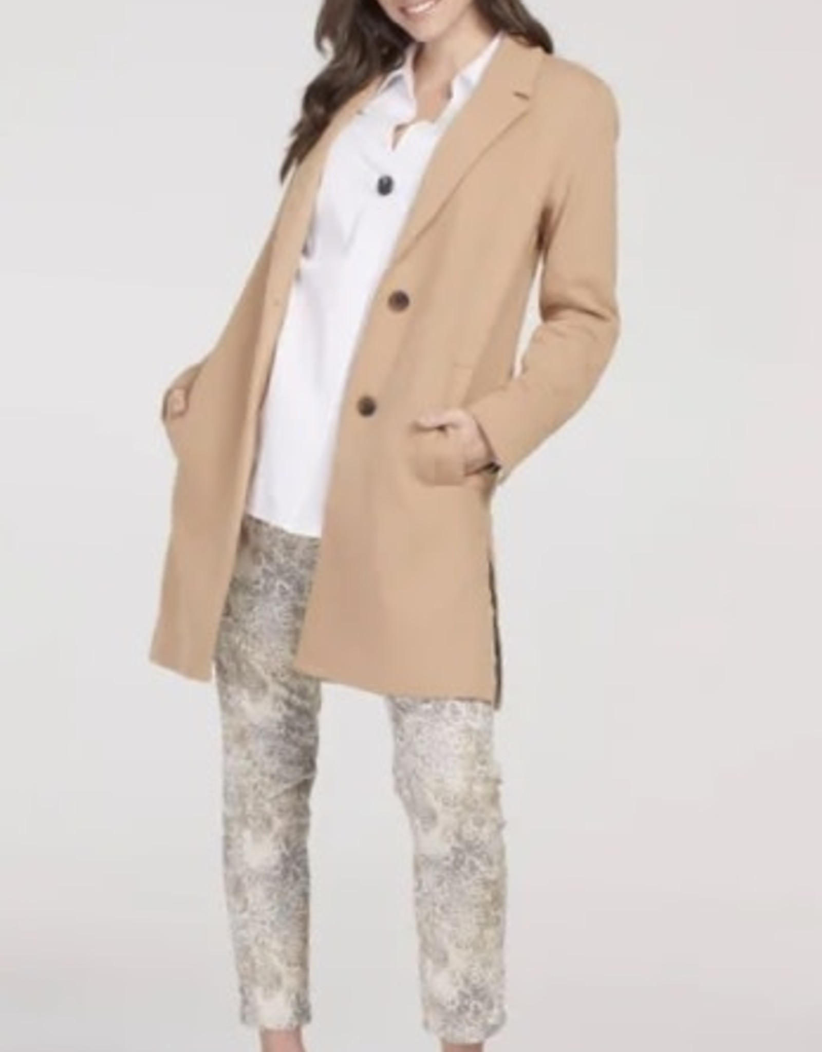 Tribal 44860 Long Jacket with Tape detail