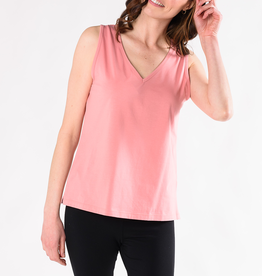 Terrera Mandy V-Neck Organic Cotton Tank