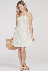Tribal 69200 Dress with Ruffle Strap