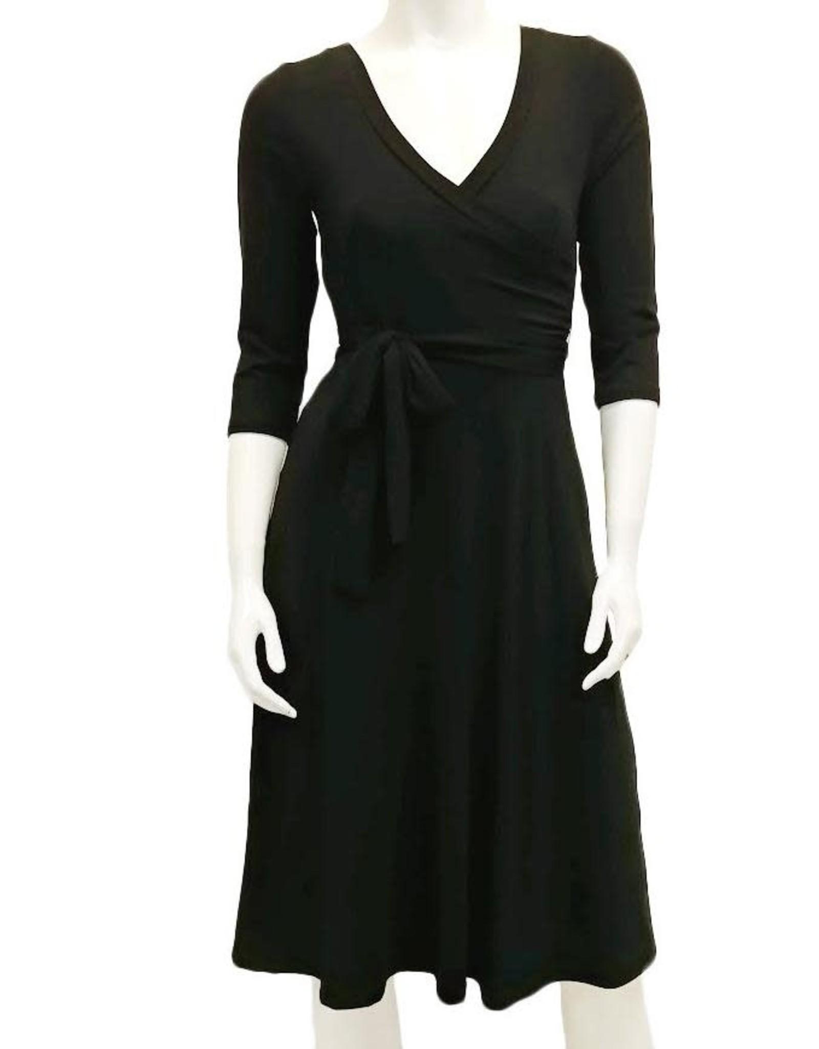 Gilmour BD-3020 Bamboo Faux Wrap Dress