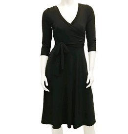 Gilmour Bamboo Faux Wrap Dress