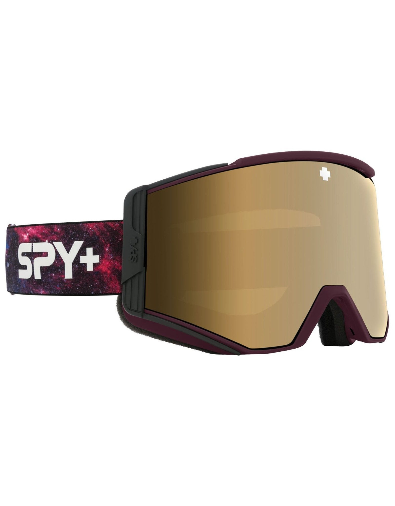 Spy Spy ACE Galaxy Purple - HD Plus Bronze with Gold Spectra Mirror - HD Plus LL Persimmon with Silver Spectra Mirror