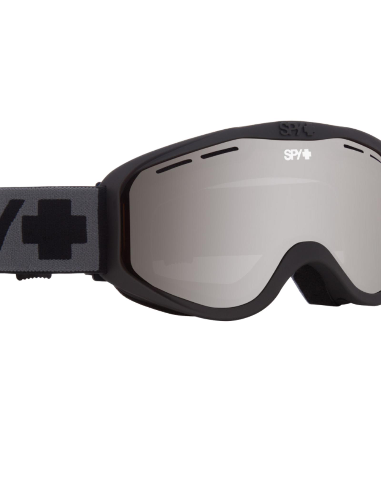 Spy Spy CADET C/O Matte Black - HD Bronze w/ Silver Spectra Mirror