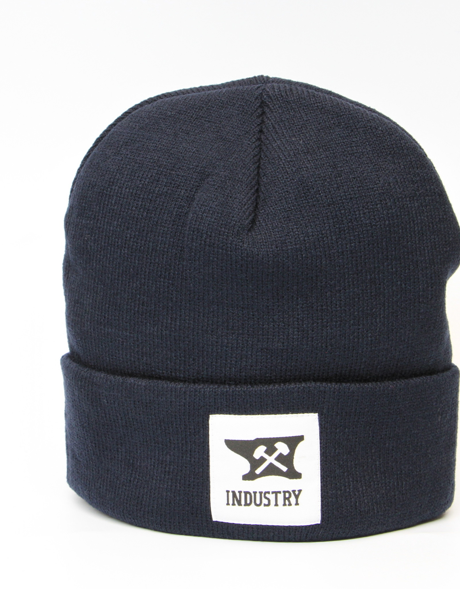 Industry INDUSTRY CLASSIC PATCH BEANIE NAVY