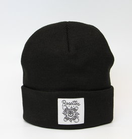Industry INDUSTRY ROSETTES CLASSIC PATCH BEANIE BLACK