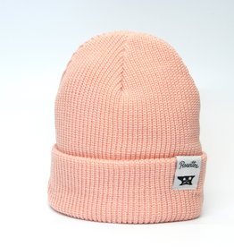 Industry INDUSTRY ROSETTES KNIT BEANIE PINK