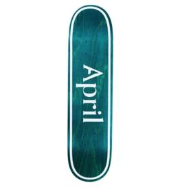 April April OG Logo Invert Mint 8