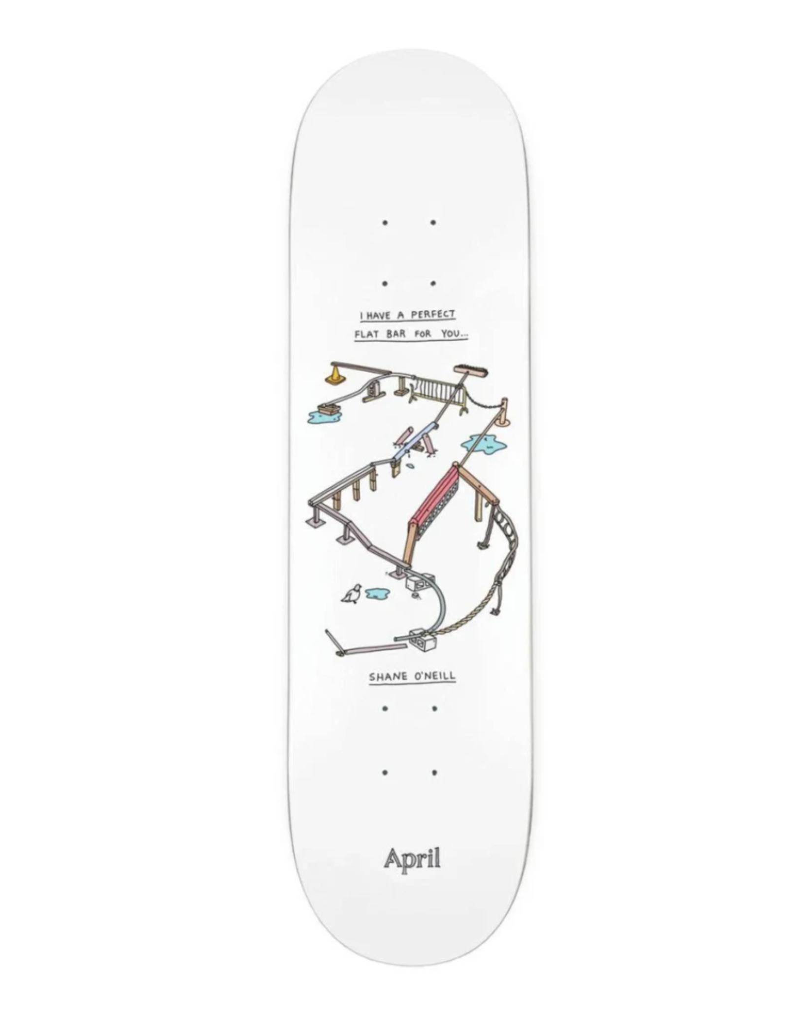April April Perfect Flat Bar 8.25
