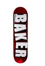 Baker Baker Logo Red Foil 8.5